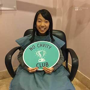dentist patient smile